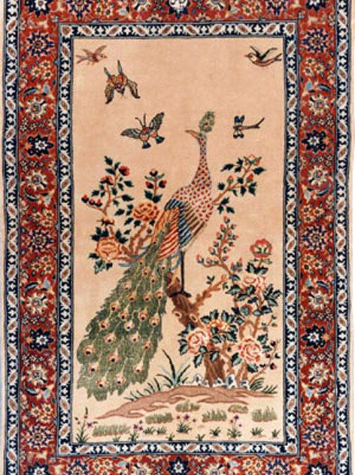 """Come nasce il tappeto persiano """"Pavone di Fayaz""""?"""